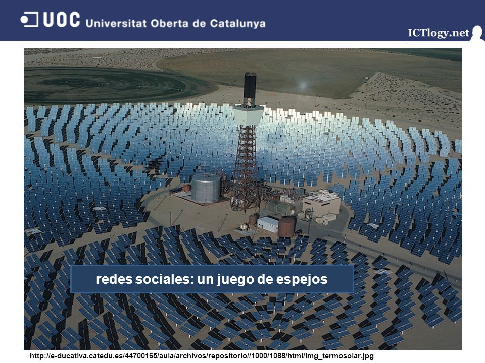 Facebook redes sociales: un juego de espejos http://e-ducativa.catedu.es/44700165/aula/archivos/repositorio//1000/1088/html/img_termosolar.jpg