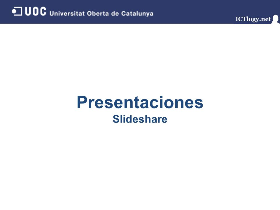 Presentaciones Slideshare