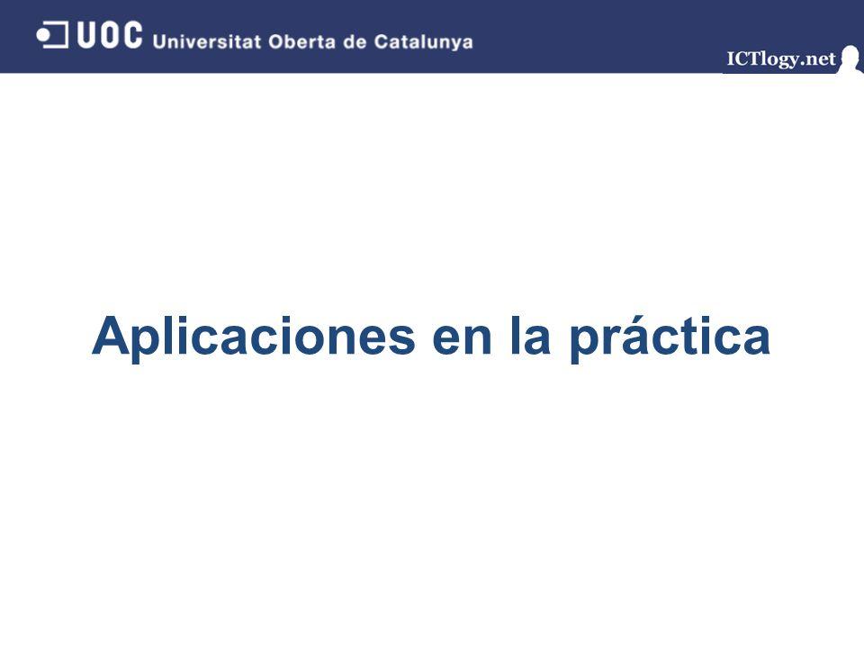 Aplicaciones en la práctica