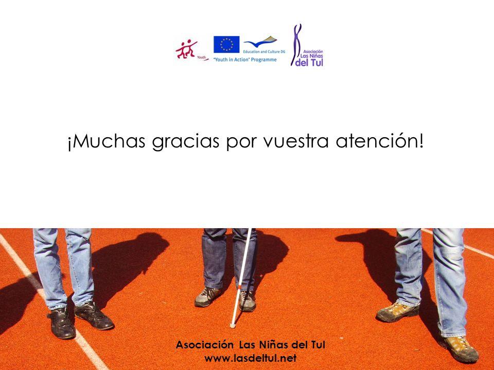 ¡Muchas gracias por vuestra atención! Asociación Las Niñas del Tul www.lasdeltul.net