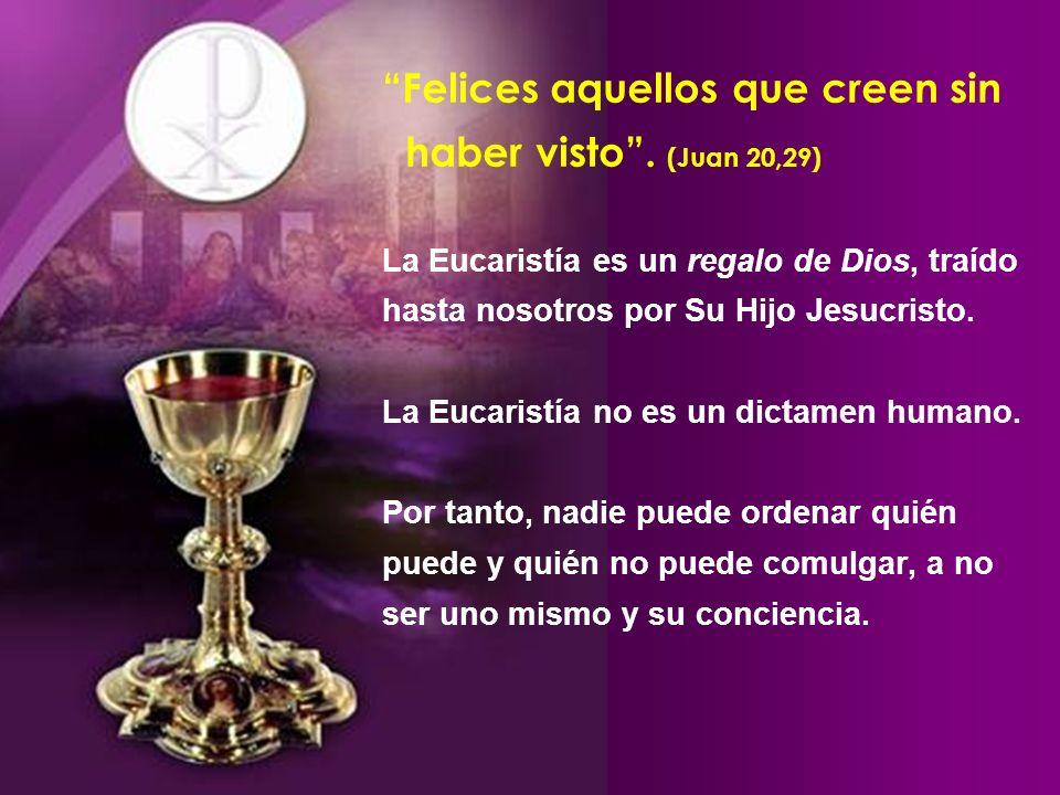 El 24 de noviembre de 1994, una joven llamada Julia, tuvo la Eucaristía transformada en carne y sangre dentro de su boca cuando un sacerdote colocaba