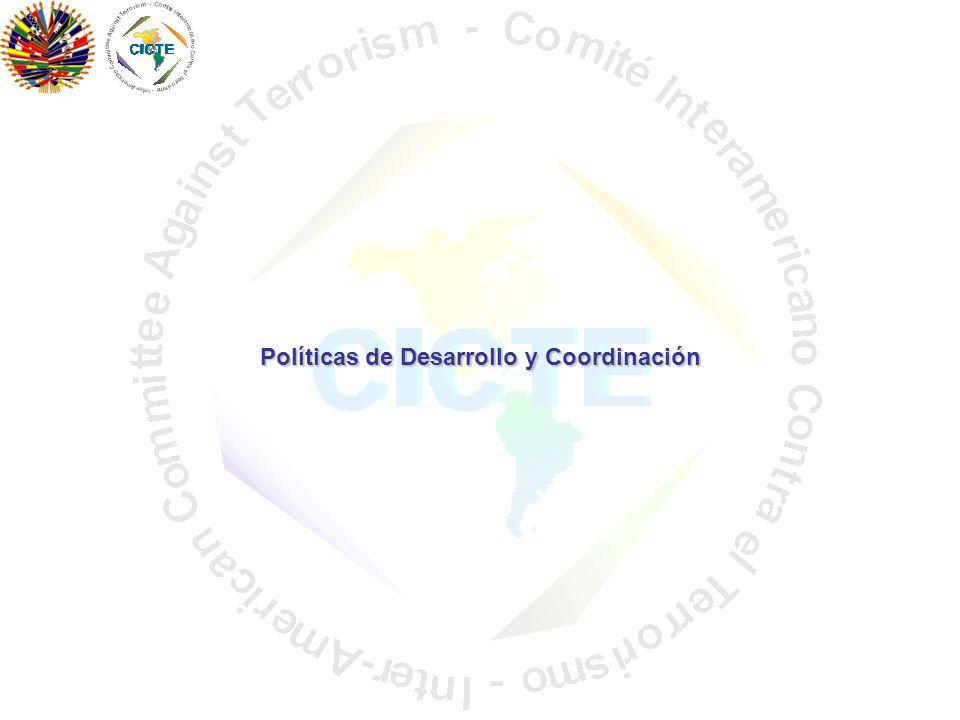 Políticas de Desarrollo y Coordinación