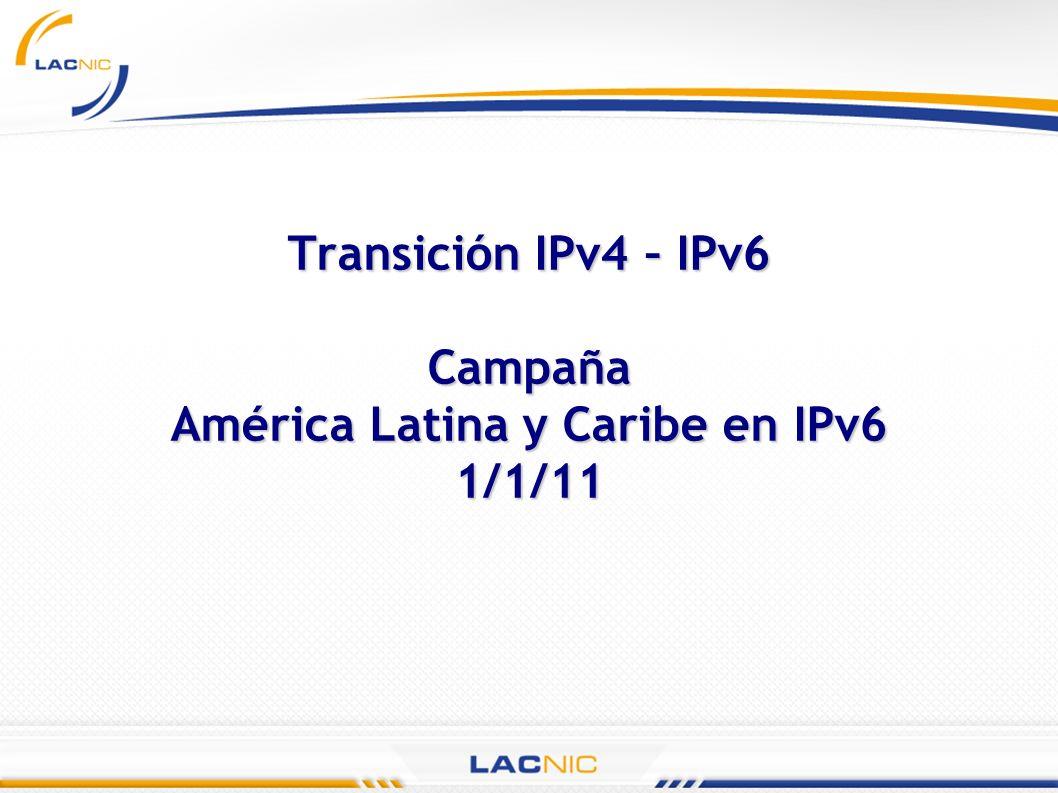 Actividades de promoción IPv6 Tour 2005 (2500 - 3000 participantes) Seminarios cortos para promoción y divulgación sobre IPv6.