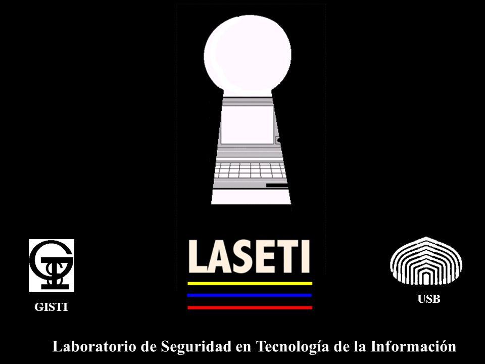 Laboratorio de Seguridad en Tecnología de la Información USB GISTI