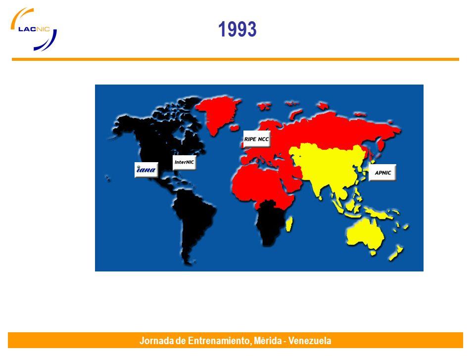 Jornada de Entrenamiento, Mérida - Venezuela 1993 RFC 1466 1993