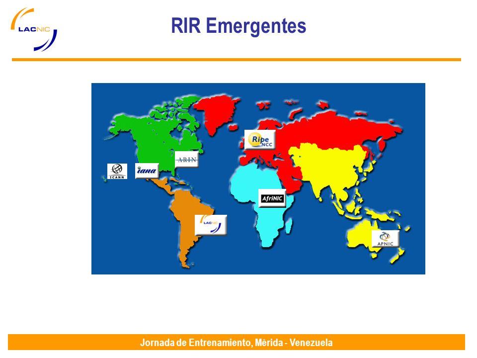 Jornada de Entrenamiento, Mérida - Venezuela RIR Emergentes