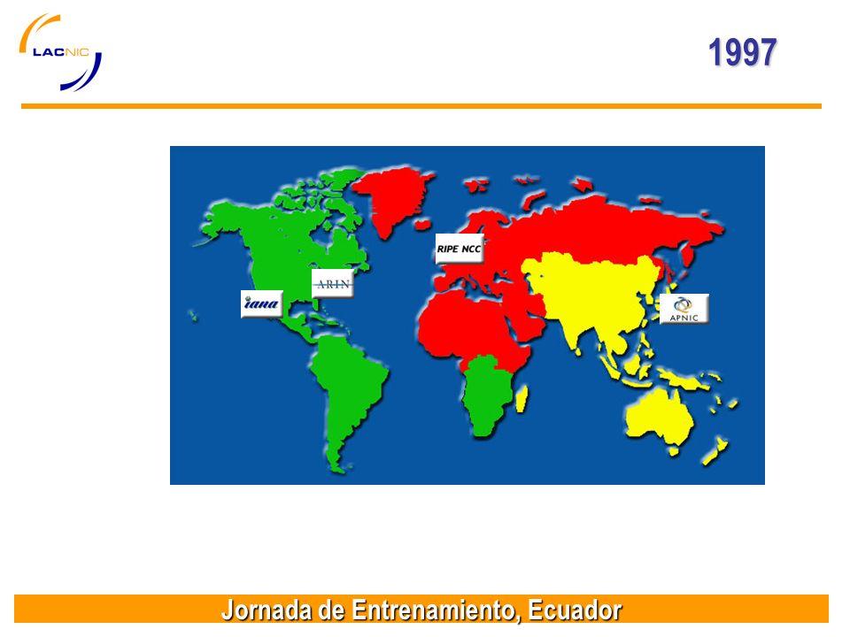 Jornada de Entrenamiento, Ecuador 1997