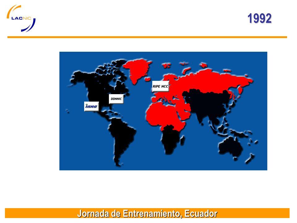 Jornada de Entrenamiento, Ecuador 1992