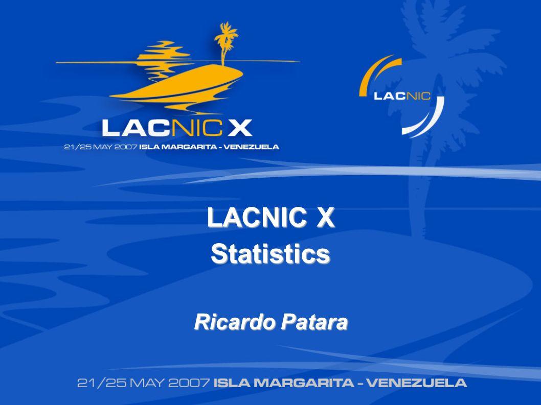 LACNIC X Statistics Ricardo Patara