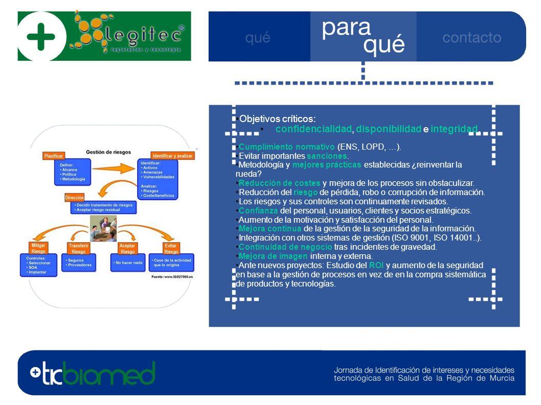Contacto: LEGITEC, especialistas en Legislación y Nuevas Tecnologías.