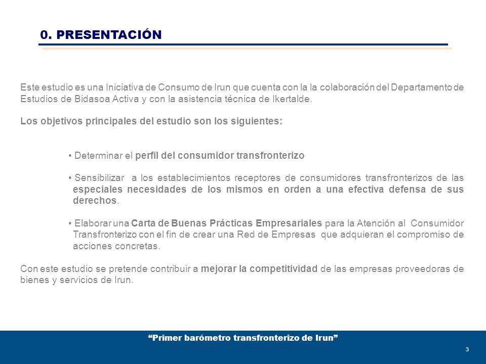 Primer barómetro transfronterizo de Irun 44 2.CARTA DE BUENAS PRÁCTICAS EMPRESARIALES PARA LA ATENCIÓN AL CONSUMIDOR TRANSFRONTERIZO EN IRUN