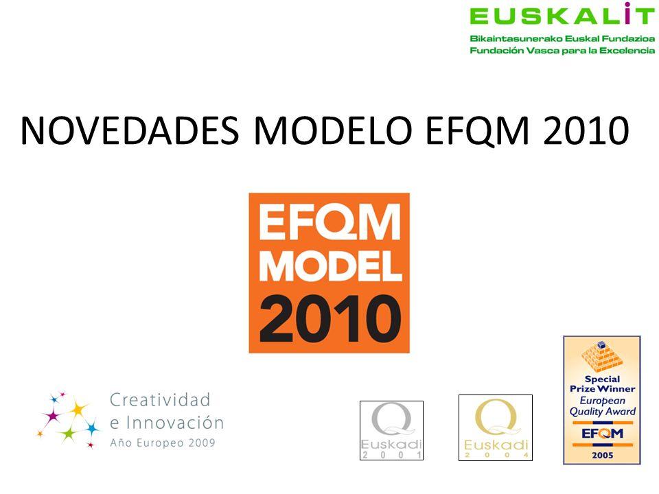 NOVEDADES MODELO EFQM 2010