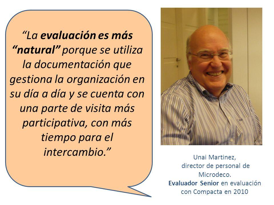 Unai Martinez, director de personal de Microdeco.
