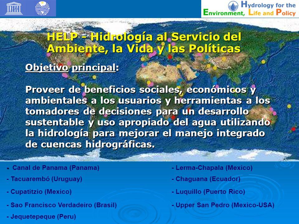 Objetivos: Alcanzar un mejor conocimiento científico, ambiental, legal e institucional de las aguas subterraneas transfronterizas.