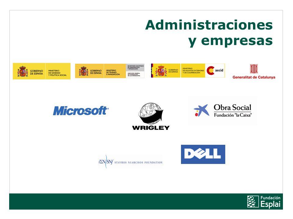 Administraciones y empresas