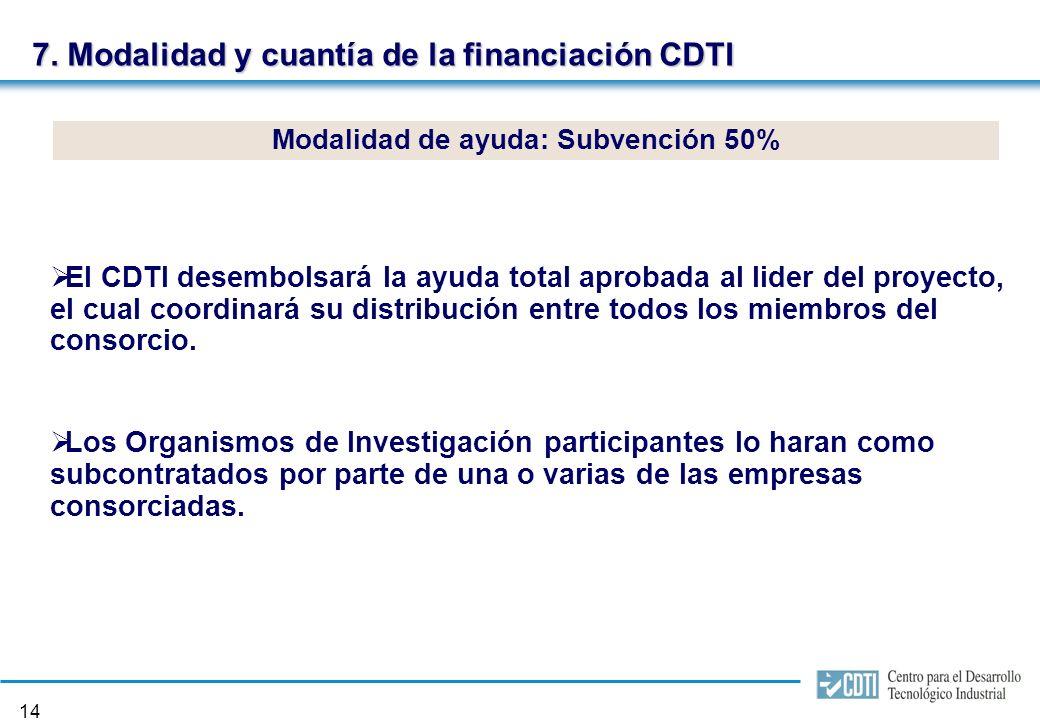13 6. Duración y presupuesto El presupuesto global del proyecto estará entre 20 y 40 M.