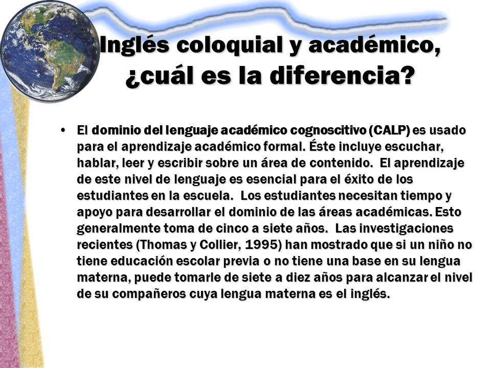 Inglés coloquial y académico, ¿cuál es la diferencia.