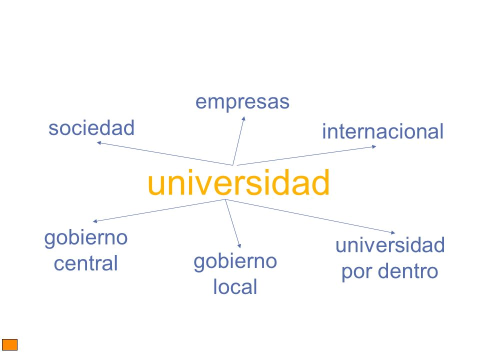 universidad sociedad empresas gobierno central gobierno local internacional universidad por dentro