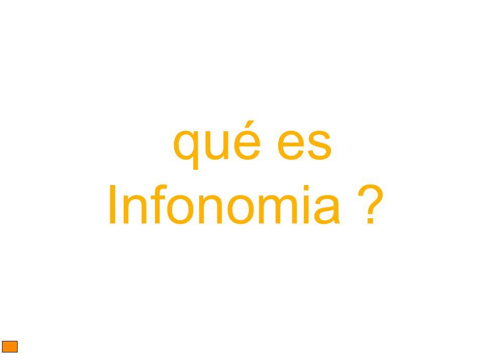 qué es Infonomia