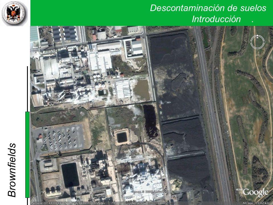 Descontaminación de suelos. Introducción. Brownfields