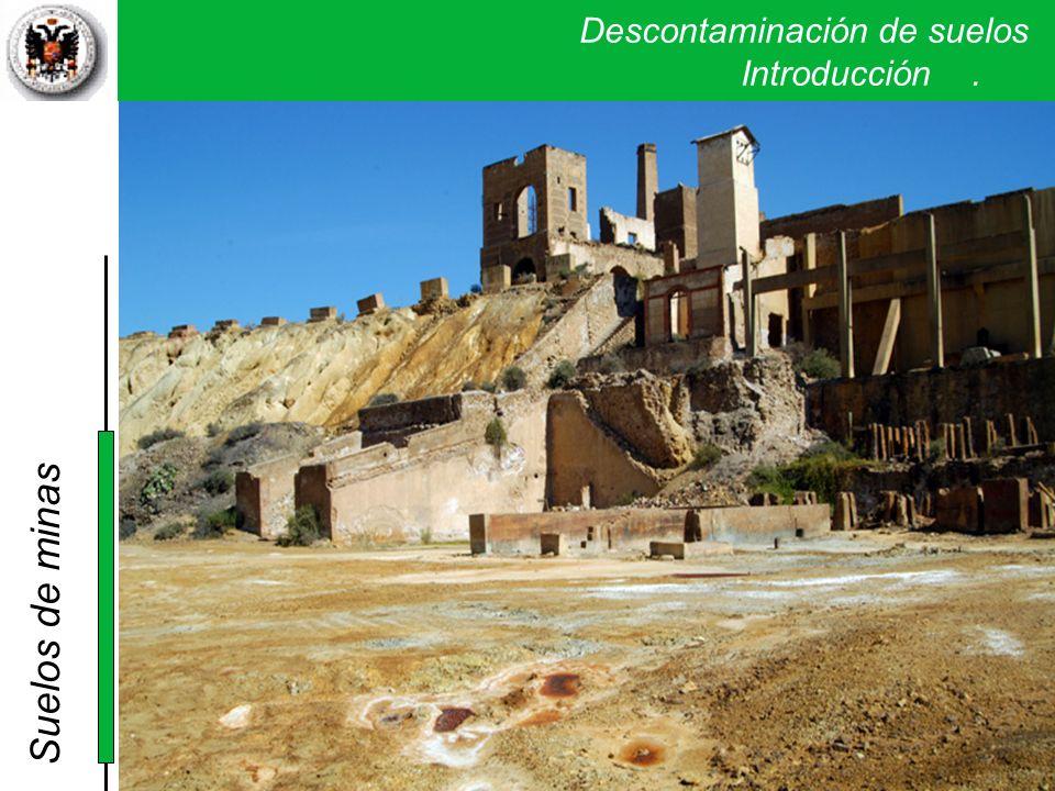 Descontaminación de suelos. Introducción. Suelos de minas