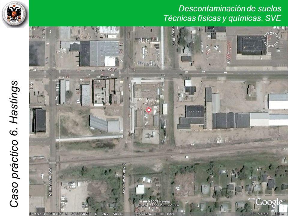 Descontaminación de suelos Técnicas físicas y químicas. SVE Caso práctico 5. Verona 6. Hastings
