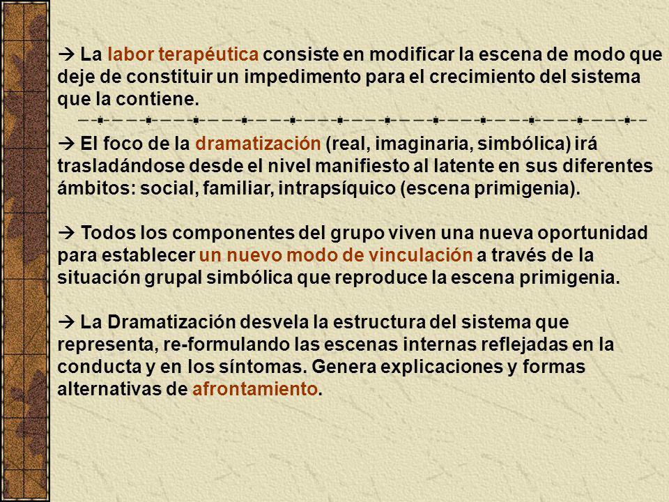 TERAPIA FAMILIAR SISTÉMICA ESTRUCTURAL- PSICODRAMÁTICA Baer Mieses, S.