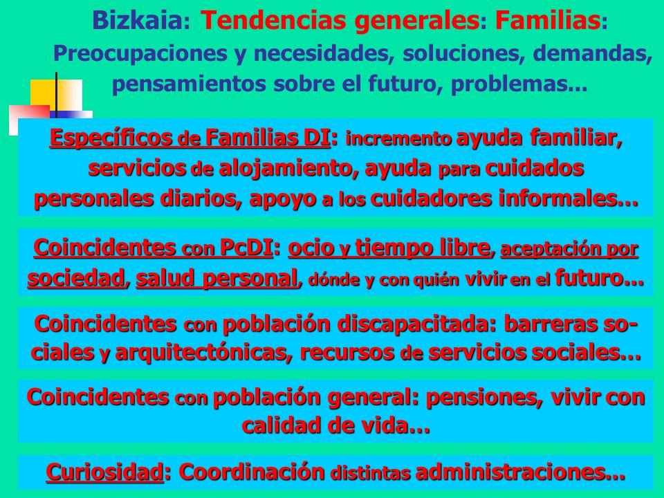Diputación Foral de Bizkaia - A. Aguado - 200849 Bizkaia : Tendencias generales : Familias : Preocupaciones y necesidades, soluciones, demandas, pensa