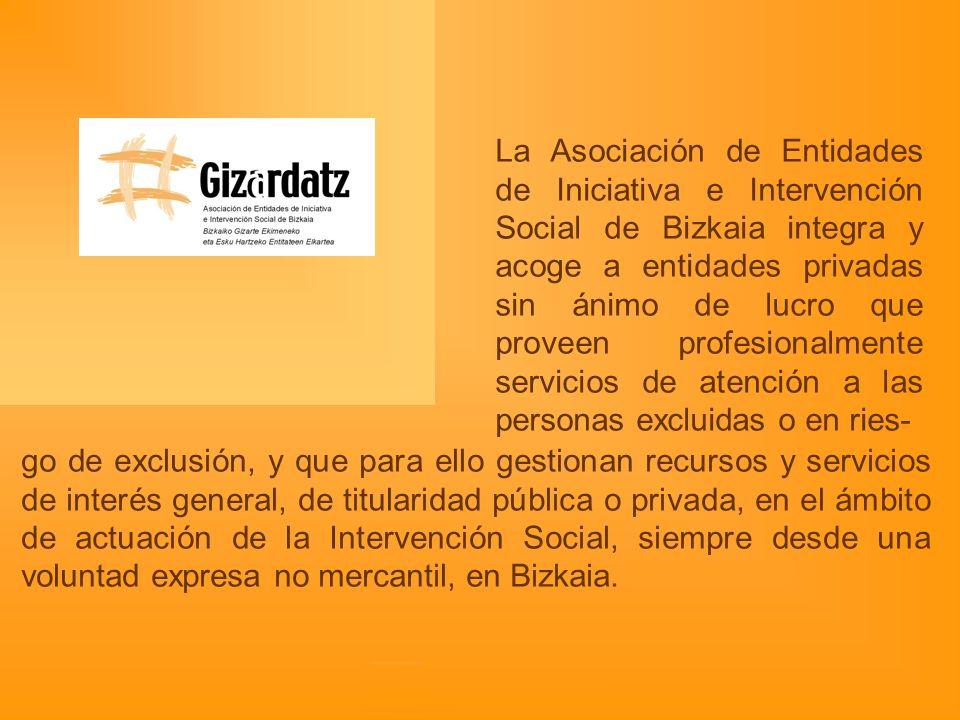 Estructuración del sector Clave de cooperación y no de competencia Potenciar posicionamiento sobre necesidades y derechos sociales Trabajar la visibilidad social.