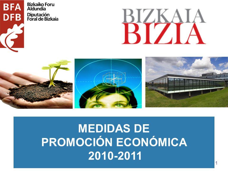 1 MEDIDAS DE PROMOCIÓN ECONÓMICA 2010-2011