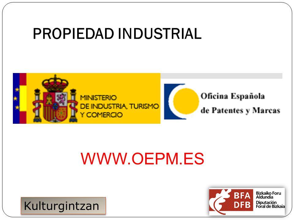 PROPIEDAD INDUSTRIAL WWW.OEPM.ES