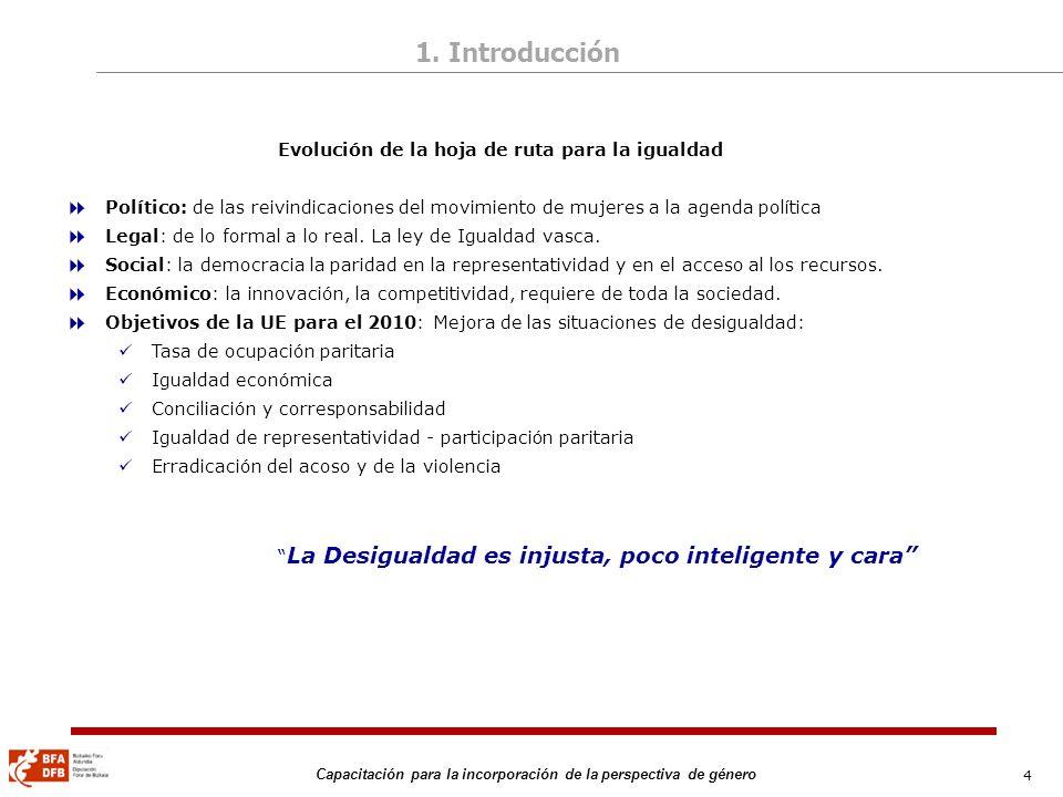 85 Capacitación para la incorporación de la perspectiva de género Platero, Raquel.