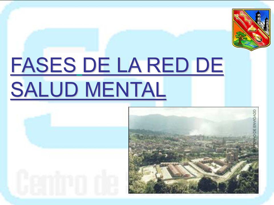 EL CENTRO DE SALUD MENTAL COMO EJEMPLO El Centro de Salud Mental de Envigado es hoy modelo de referencia para la Organización Mundial de la Salud y la