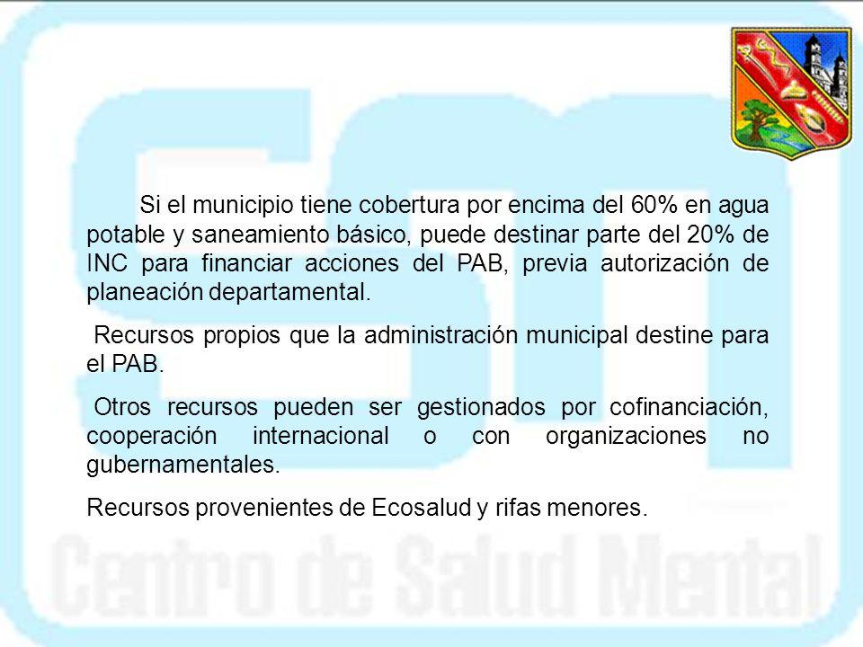 GESTION DE RECURSOS FINANCIEROS Los municipios cuentan con recursos provenientes de diferentes fuentes de financiación; el acceso a ellos depende de s