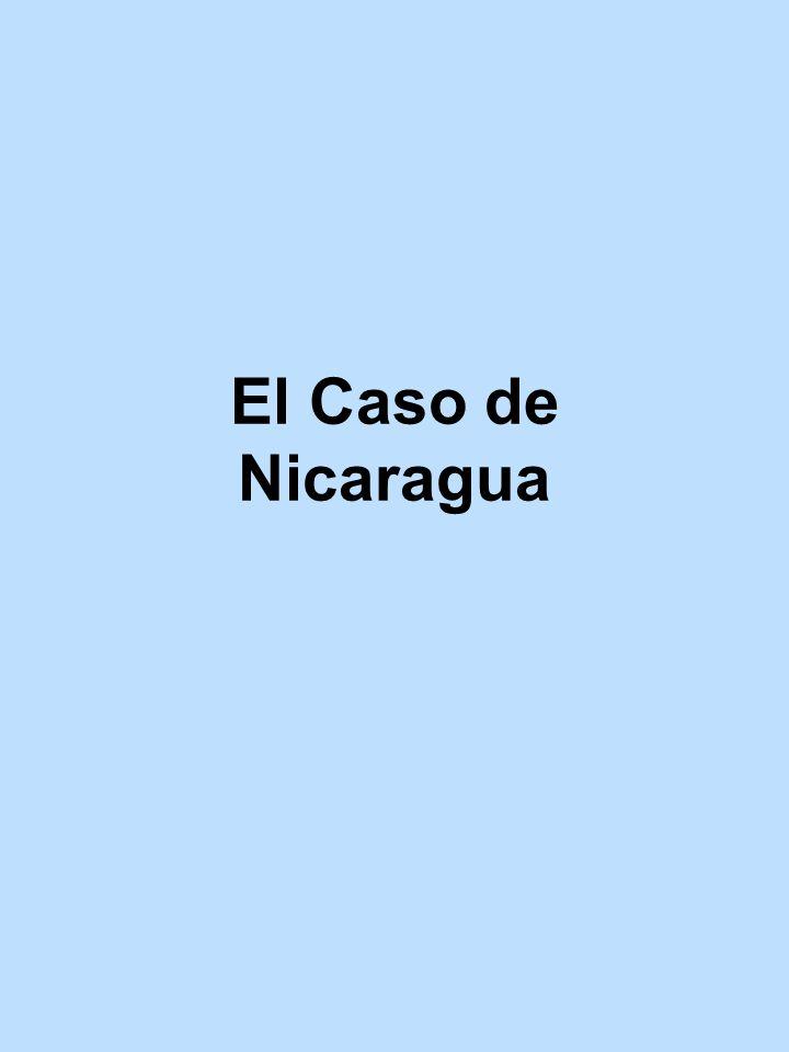 El Caso de Nicaragua