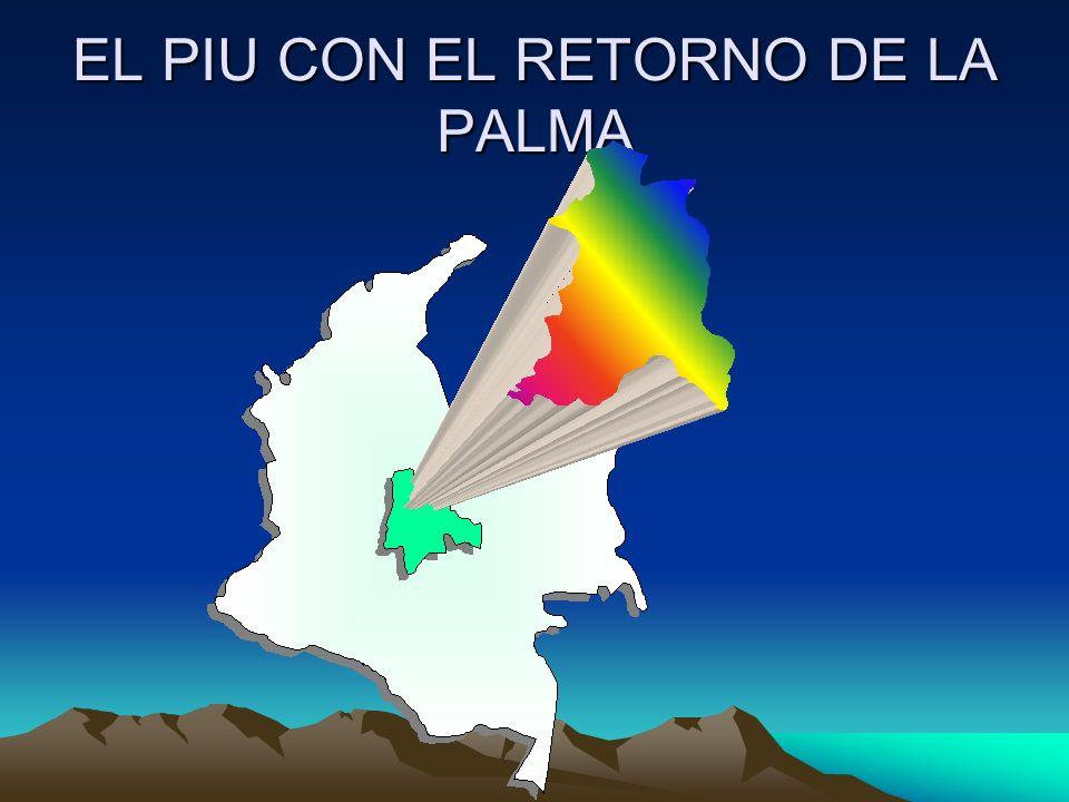 EL PIU CON EL RETORNO DE LA PALMA