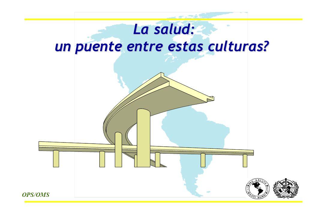 OPS/OMS La salud: un puente entre estas culturas La salud: un puente entre estas culturas