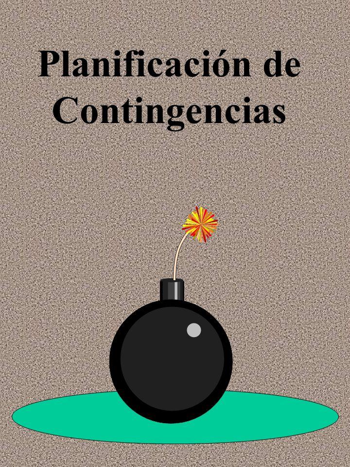 Planificación de Contingencias