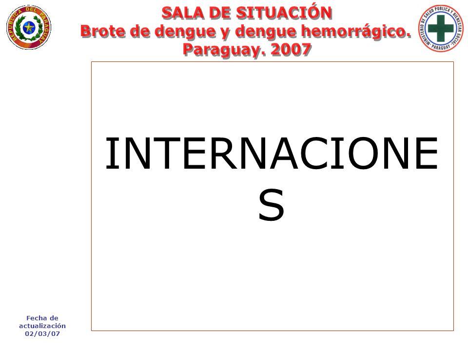 Fecha de actualización 02/03/07 Lunes 29 de Enero de 2007 - 09:33 hs. INTERNACIONE S