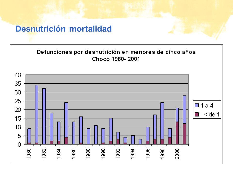 © Plan Desnutrición mortalidad