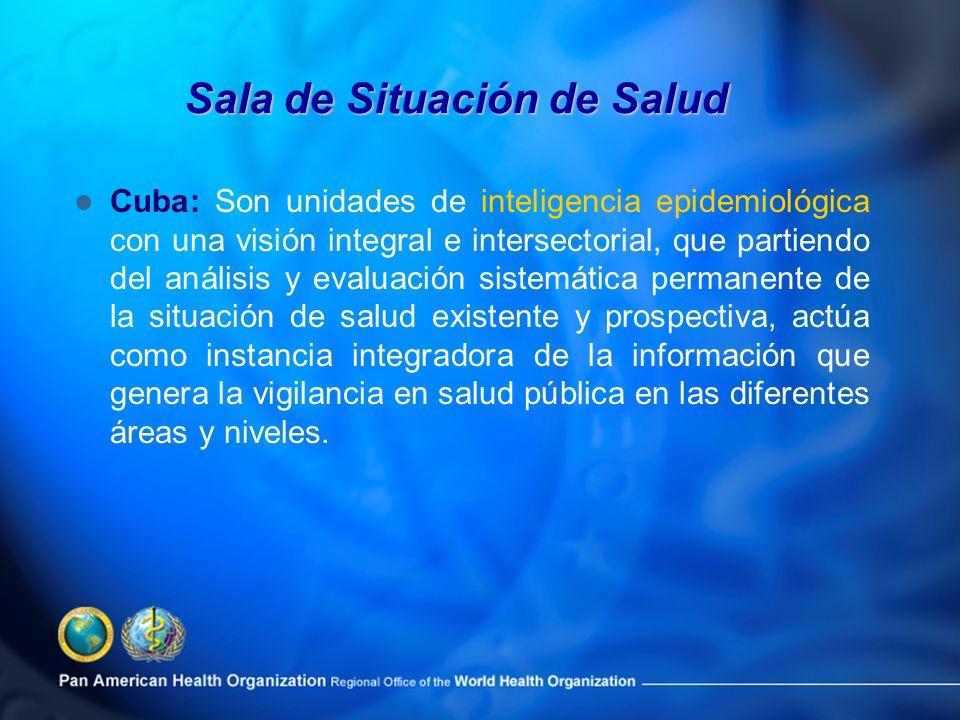 Cuba: Son unidades de inteligencia epidemiológica con una visión integral e intersectorial, que partiendo del análisis y evaluación sistemática perman