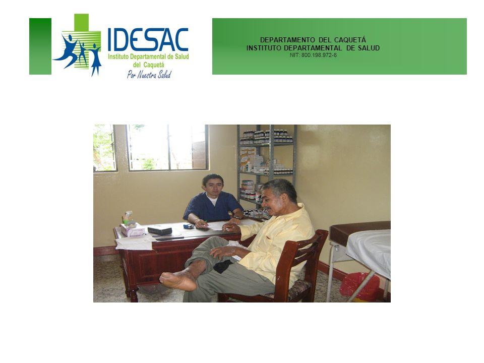 DEPARTAMENTO DEL CAQUETÁ INSTITUTO DEPARTAMENTAL DE SALUD NIT: 800.198.972-6