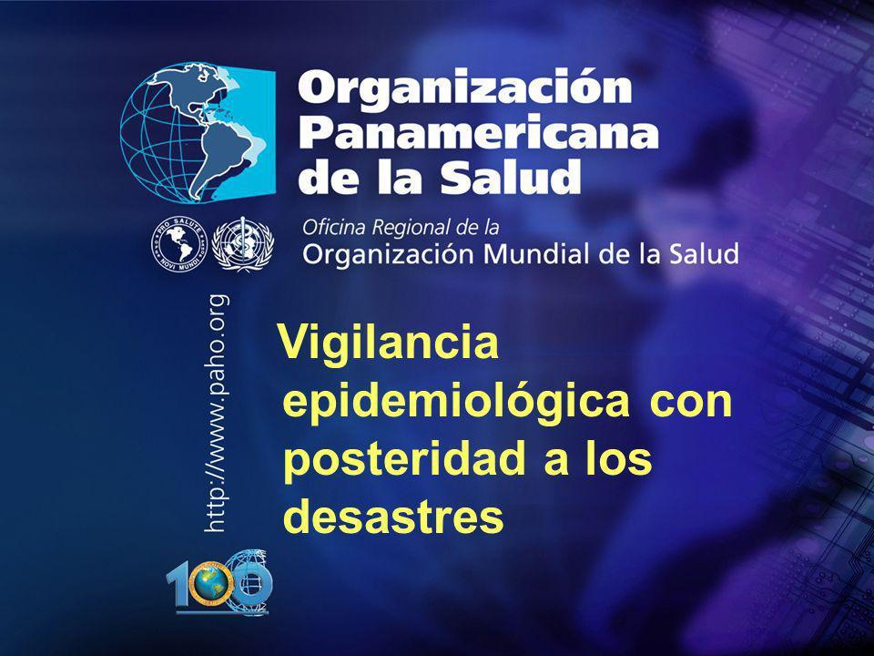 12 Organización Panamericana de la Salud Presentación de la información Matrices cuadros y tablas Gráficos estadísticos: Ej.