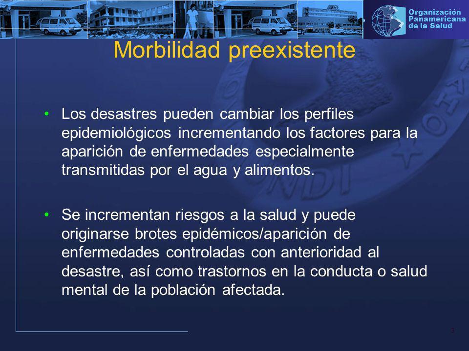 14 Organización Panamericana de la Salud La vigilancia epidemiológica para el control de las enfermedades