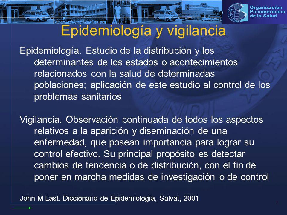 16 Organización Panamericana de la Salud Investigación epidemiológica Caso sospechoso: diagnostico clínico Caso confirmado: laboratorio Control epidemiológico