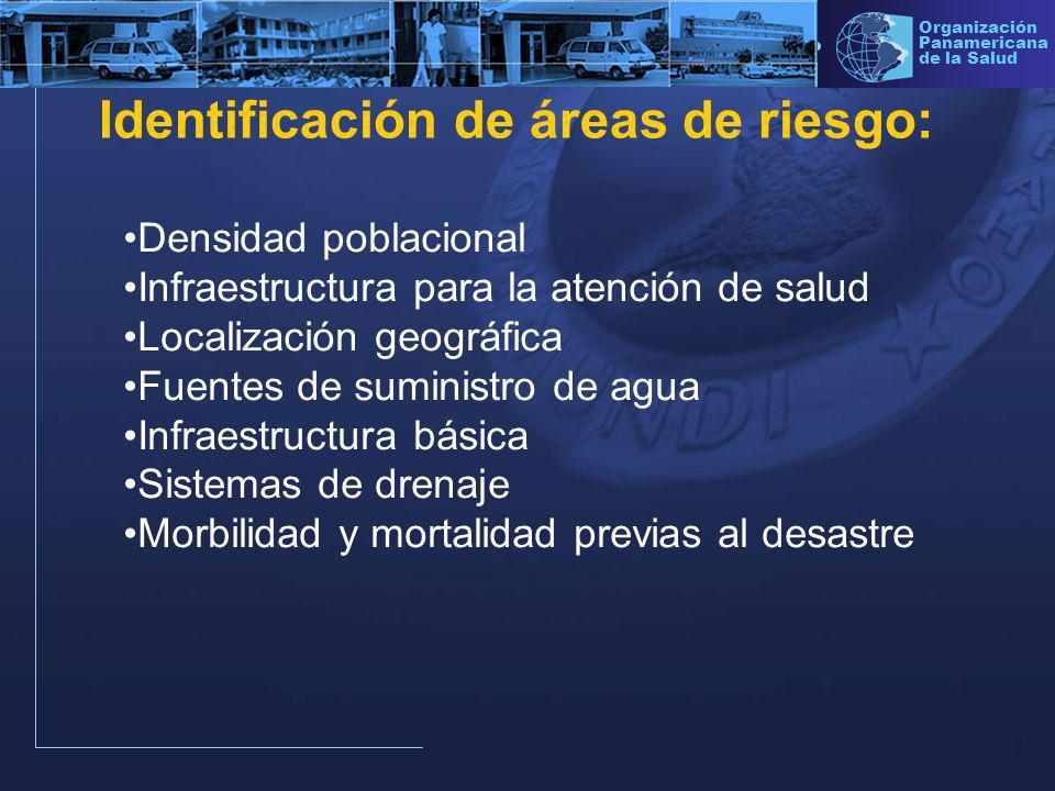 8 Organización Panamericana de la Salud Sistema de vigilancia : 1.