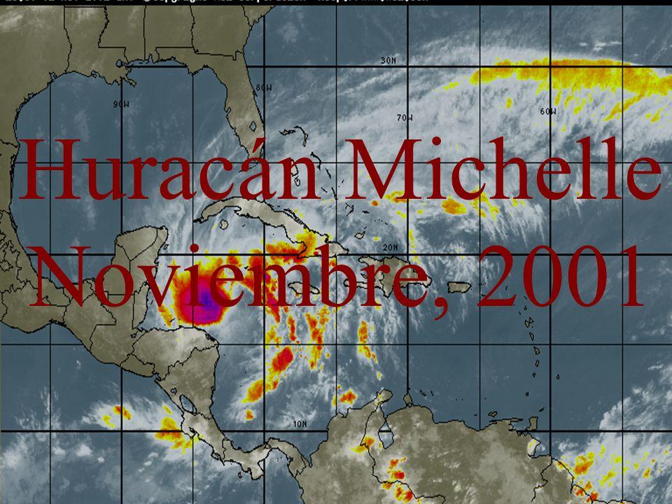 Huracán Michelle Noviembre, 2001