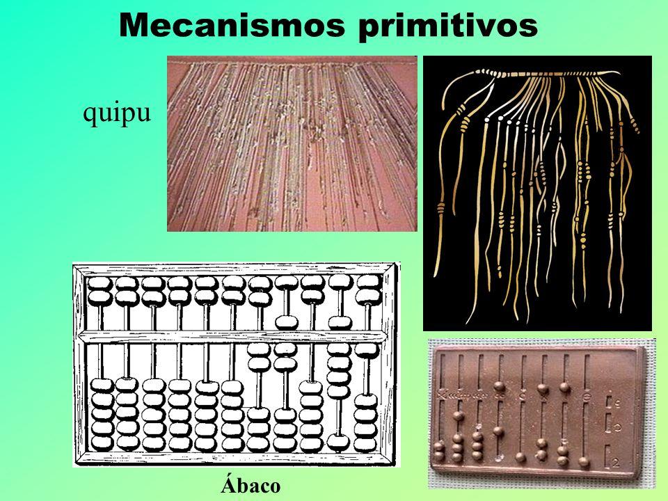 Ing. Enzo Molino – Las TIC y la educación quipu Mecanismos primitivos Ábaco