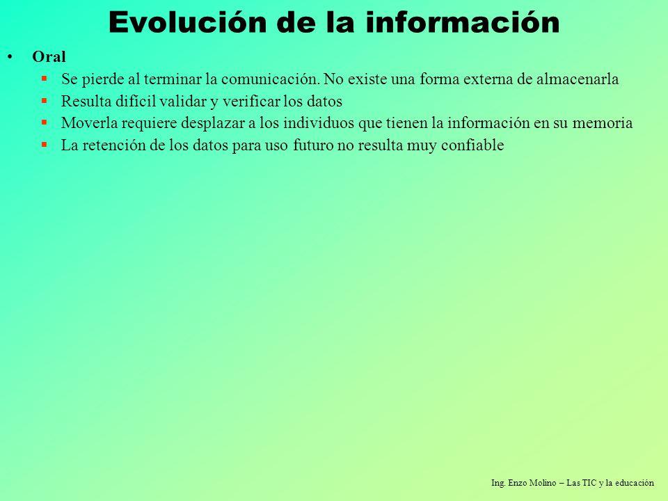 Ing. Enzo Molino – Las TIC y la educación Muchas gracias