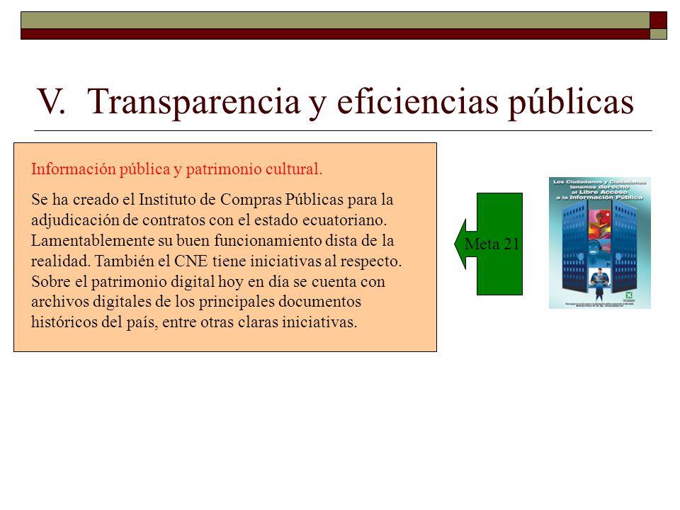 Meta 21 Información pública y patrimonio cultural.